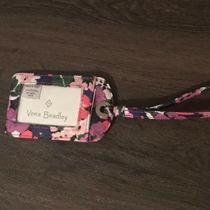 Vera Bradley Multi Colored Floral Luggage Tag NWOT